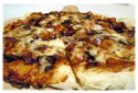 bbq pizzas on the grill