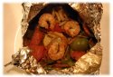 grilling vegetables foil pouch