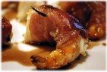 bbq bacon wrapped shrimp