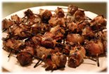 bacon wrapped tenderloin appetizers