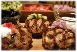 mediterranean grilled burgers