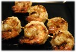 lemon grilled shrimp kebabs
