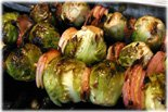 yummy grilled brussel sprouts