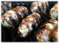 grilled kofta kebabs