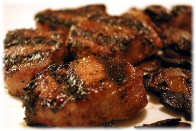 best grilled pork medallions