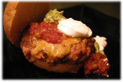 chicken fajita hamburger recipe