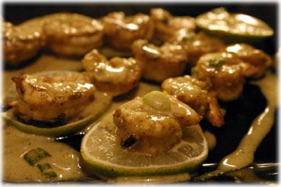 bbq shrimp curry recipe