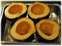 how to make stuffed acorn squash