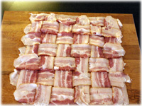 bacon weave for bacon explosion
