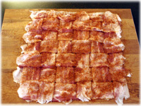 bacon with bbq seasoning