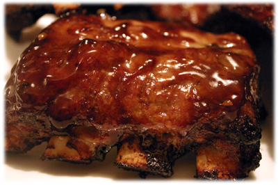 teriyaki barbeque pork ribs