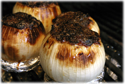 how to roast onions on the grill