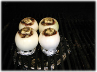how to bbq onions