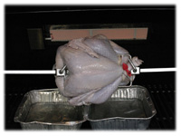 how to rotisserie cook a turkey