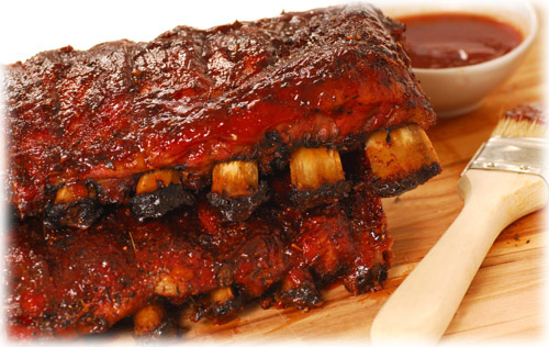 ... to be BBQ Ribs, and we've included some of our favorite recipes here