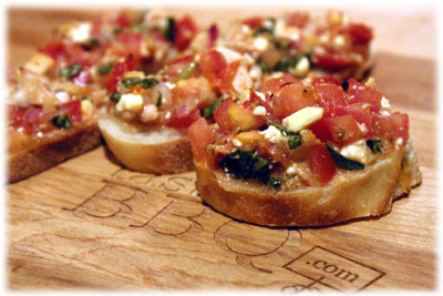 best recipe for bruschetta