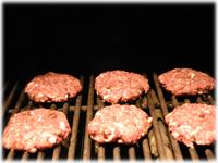 grilling buffalo burgers