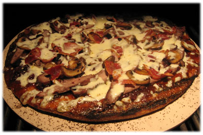 learn how to make a pizza on the barbecue
