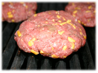 grilling cheeseburgers