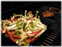 chicken peppers onions fajitas