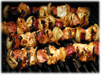 bbq chicken kabobs recipe