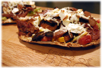 gourmet grilled chicken pizza recipe