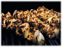 thai bbq chicken kabobs