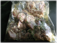 marinating chicken thighs