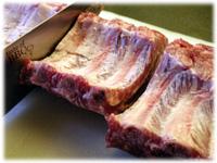 how to cut pork ribs