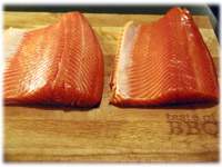 steelhead trout fillets