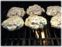 grilling crab cakes