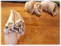 how to make crab stuffed sole