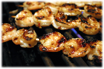 real easy grilled shrimp