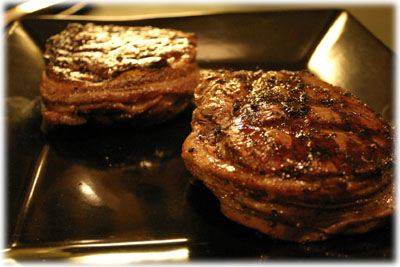 how to cook filet mignon on gas bbq