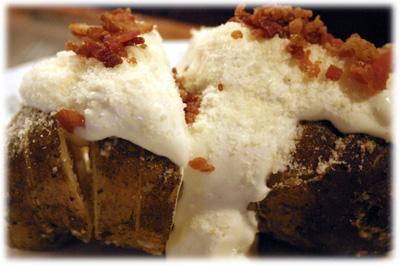 garlic baked potato recipe