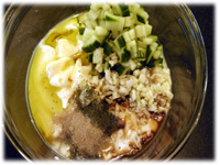 garlic cucumber sauce recipe