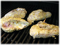 barbecue ginger chicken