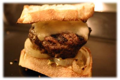 chimichurri gourmet burger recipe