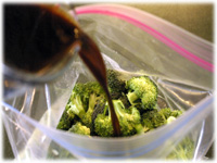 marinade for broccoli