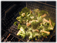 how to grill broccoli
