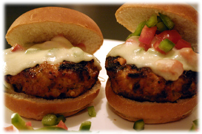 italian grilled hamburger
