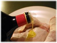 oil chicken bbq