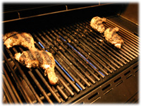 cooking chicken on indirect heat