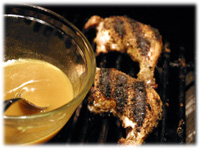grilling honey mustard chicken