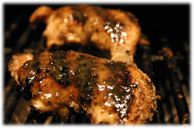 bbq honey mustard chicken