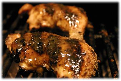 bbq honey mustard chicken