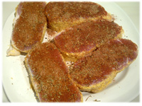 seasoned peameal bacon