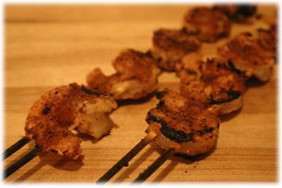 bbq grilled shrimp recipe