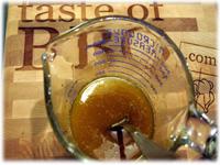 honey curry glazing sauce