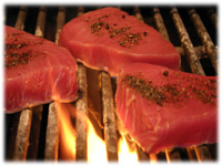 grilling tuna steaks
